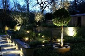 Светодиодные светильники в ландшафтном дизайне