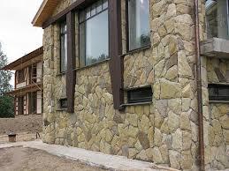 Отделка фасадов камнем