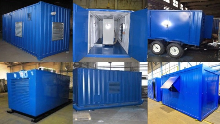 Изготовление блок-контейнеров Север